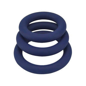 3 Silicone Cock Rings set from Loving Joy - Sex Siopa, Ireland's Best Sex Toys and Lubricants