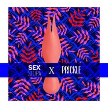 Load image into Gallery viewer, Title image for the Sex Siopa x Prickle silk scarf and Svakom Siren vibrator gift set.