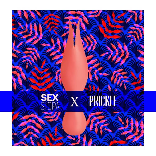 Title image for the Sex Siopa x Prickle silk scarf and Svakom Siren vibrator gift set.