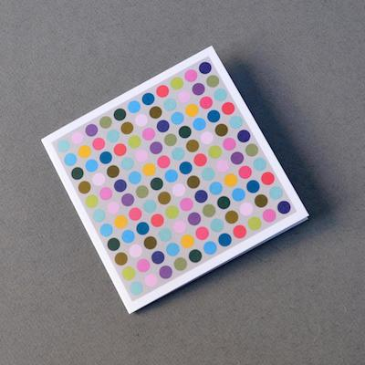 Polka dots greeting card by Bold Bunny in Dublin