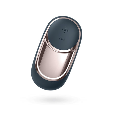 Front view of the Satisfyer Layons Dark Desire compact vibrator with 15 vibration settings and USB charging - Sex Siopa, Ireland's Best Sex Toys.