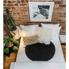 Load image into Gallery viewer, The Layer machine washable intimacy blanket on a boho bed with fluffy pillows - Sex Siopa, Ireland's best sex toys and accessories.