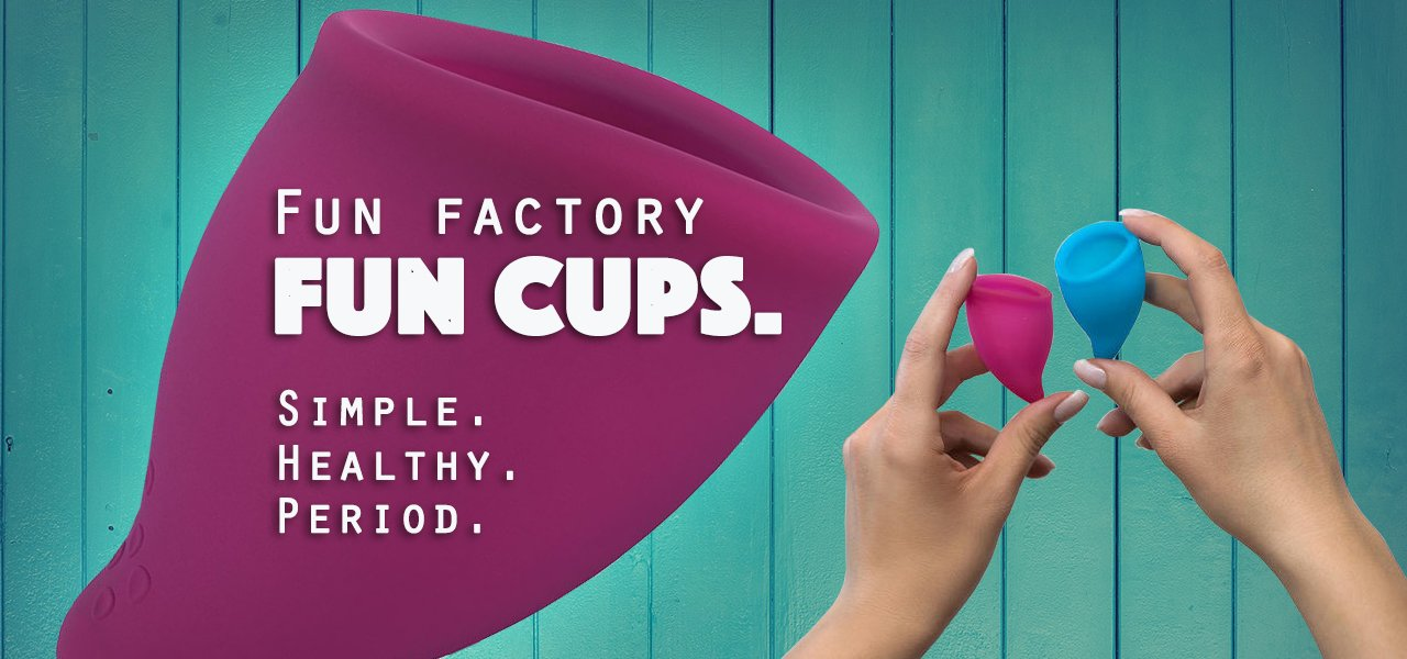 Menstrual cups in Ireland by Fun Factory