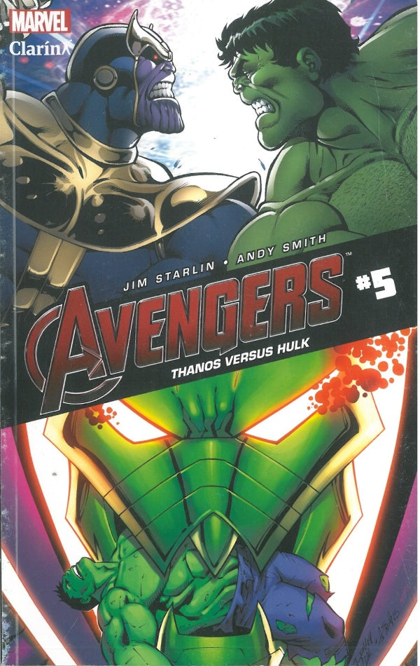 Avengers 05 Thanos Vs Hulk