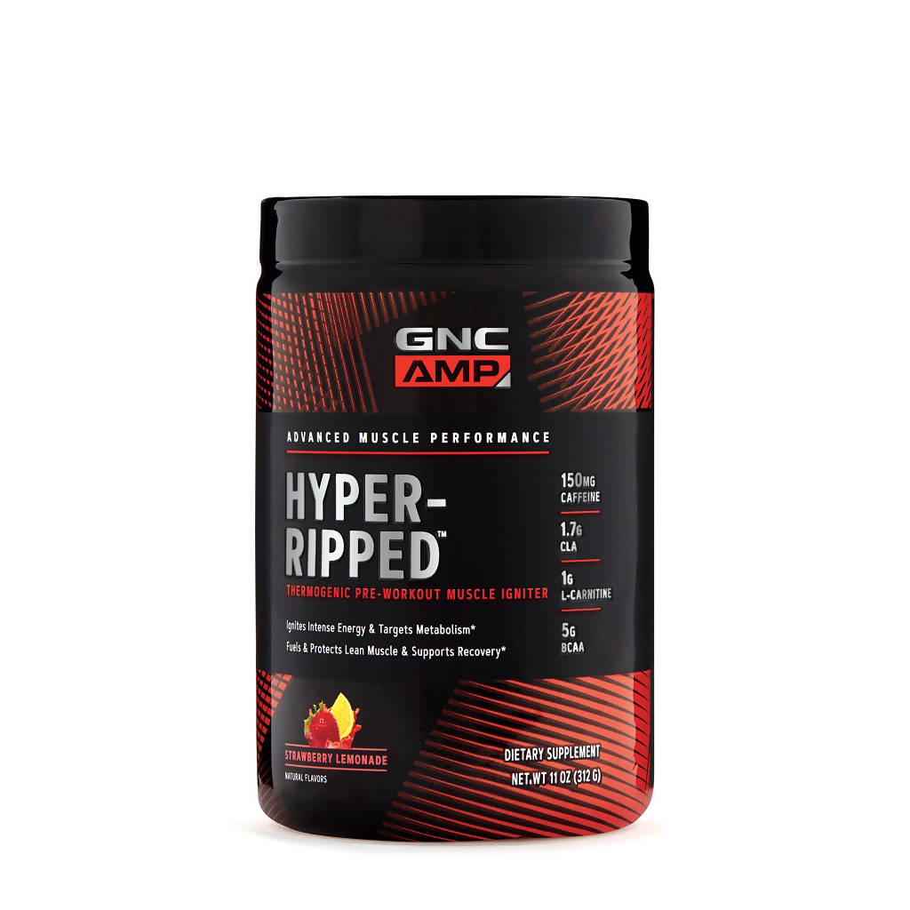 AMP Hyper-Ripped Strawberry Lemonade