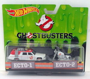 HotWheels Ghost Busters ECTO-1 y ECTO2