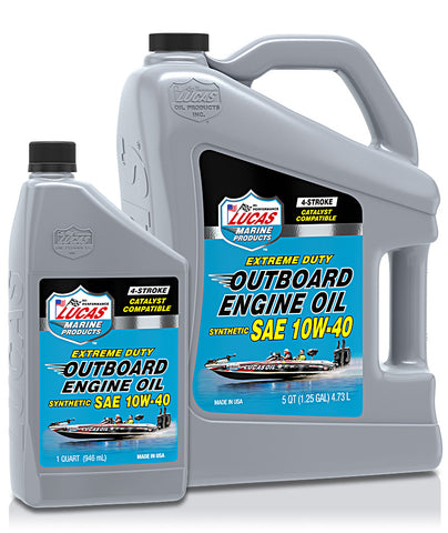 Outboard Synthetic SAE 10w-40 Engine Oil