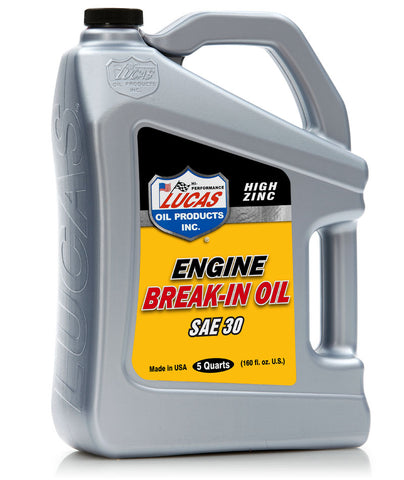 Engine Break In Oil SAE 30
