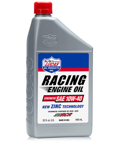 Synthetic SAE 10w-40 Racing Only Oil