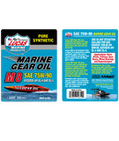 M8 Marine Synthetic SAE 75w-90 Gear Oil