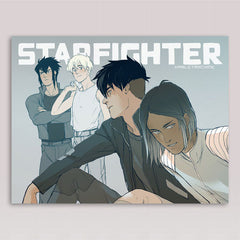 Starfighter Eclipse Print 01