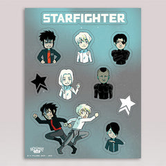 Starfighter Sticker Sheet