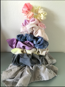 3 PACK SCRUNCHIES ASSORTED