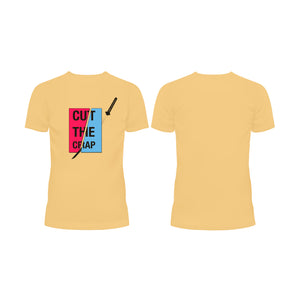 CUT the CRAP- Half Sleeve T-Shirt