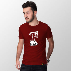 Kaafi Lazy Half Sleeve T-Shirt