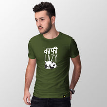 Load image into Gallery viewer, Kaafi Lazy Half Sleeve T-Shirt