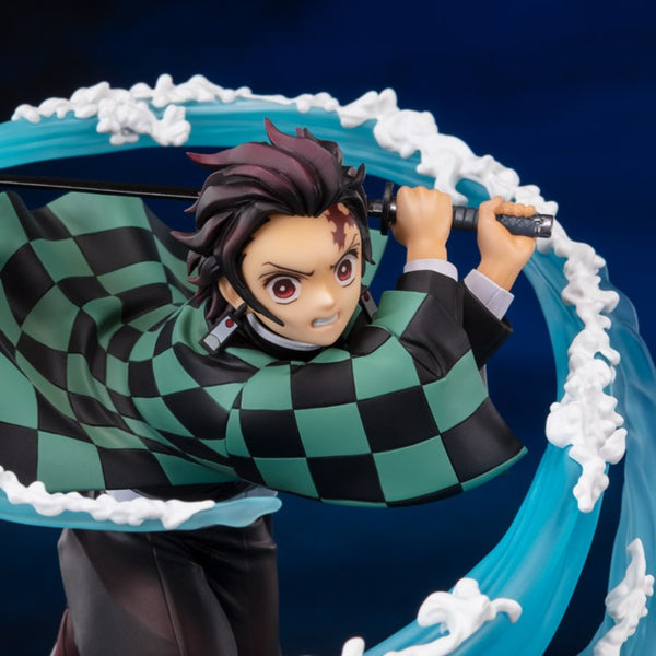Damon Slayer Tanjiro Kamado Water Breathing Figuarts ZERO
