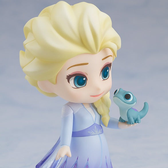 【Pre-Order】Frozen2 Elsa Blue dress Ver.  Nendoroid PVC Figure