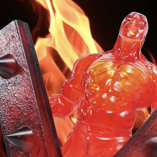【Limited】CCP×Toysking CMC Vol.EX Kinnikuman Junkman Overheat Junk Crush Ver. PVC Figure
