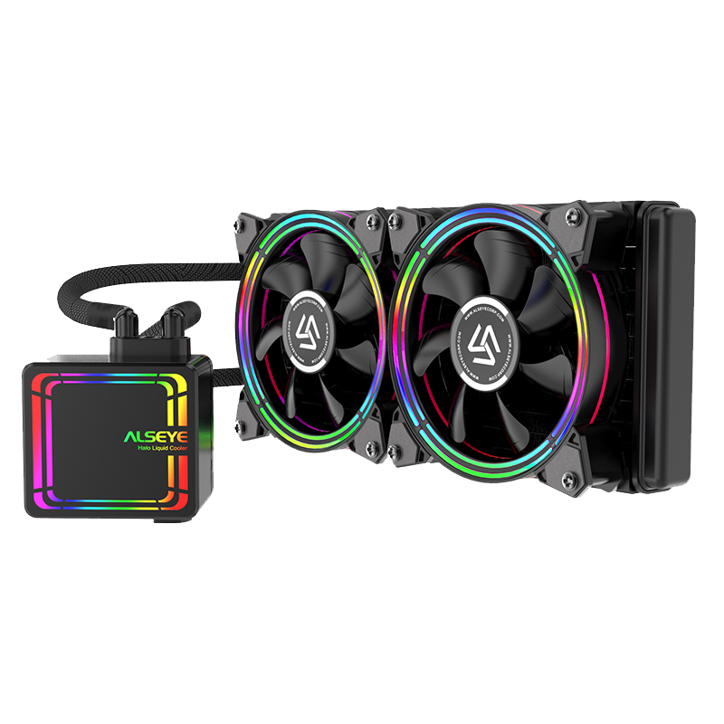ALSEYE L240 Halo Liquid Cooling