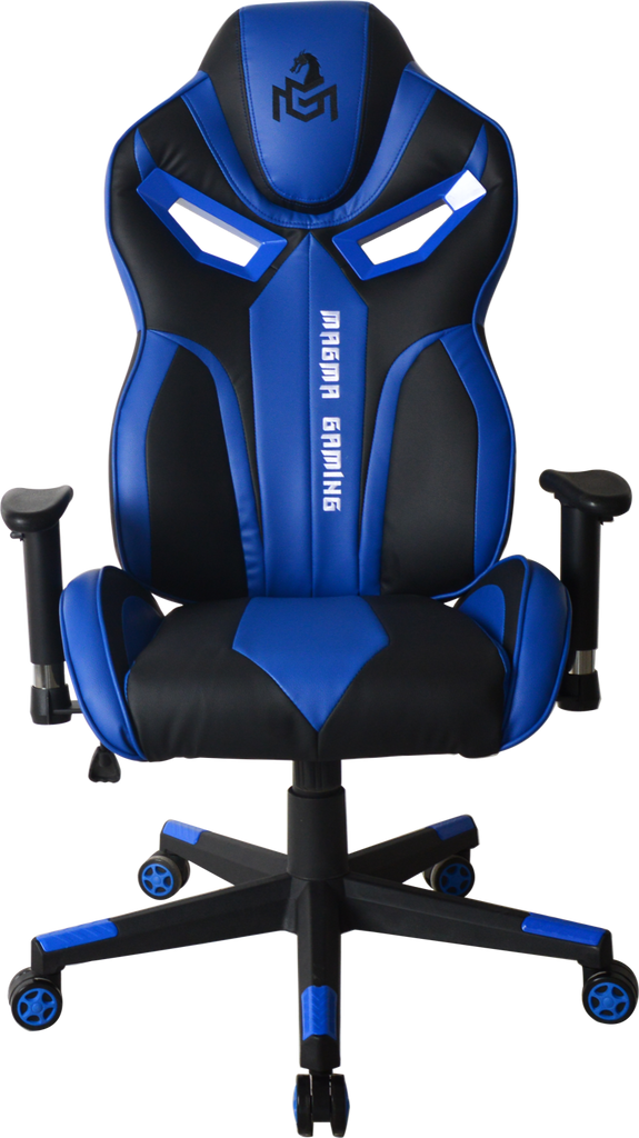 MAGMA GAMING Flame Series Blue Gaming Chair