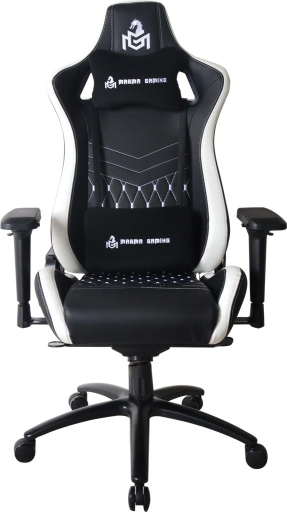 MAGMA GAMING Monarch Series Black/White Gaming Chair