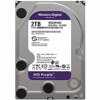 WD 2TB purple HDD