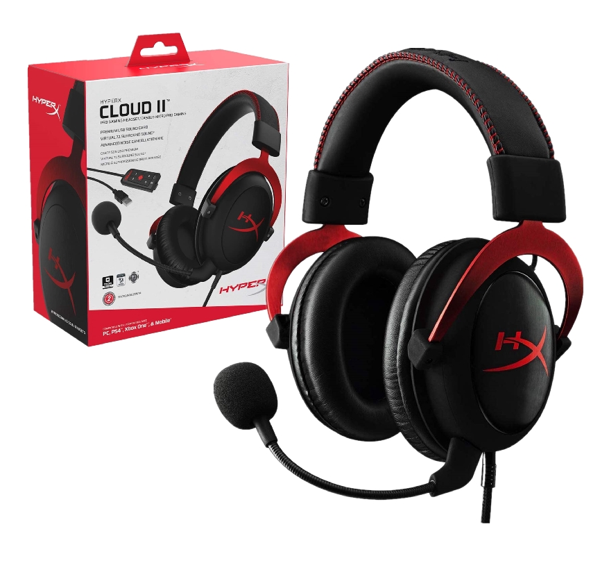 HYPERX CLOUD II ( CLOUD 2 ) 7.1 Surround Gaming Headset