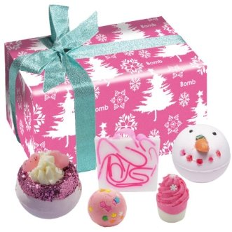 Dreaming of a Pink Christmas Gift Pack - Light & Scent