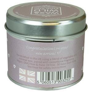 Sentiments Candle in Tin - It's a Girl - Light & Scent