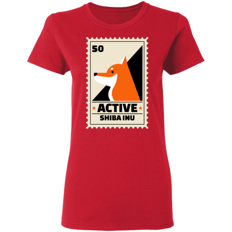 Image of Rescue City: Active Shiba Inu T-Shirt