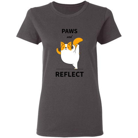 Image of Paws and Reflect - T-Shirt