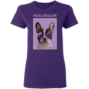 Hug Dealer - Ladies' Preshrunk Cotton T-Shirt
