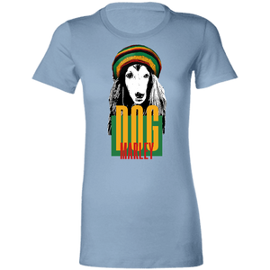 Dog Marley Ladies' Slim-Cut T-Shirt