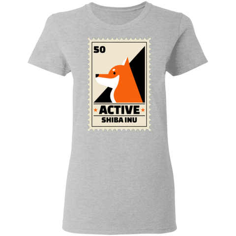 Rescue City: Active Shiba Inu T-Shirt