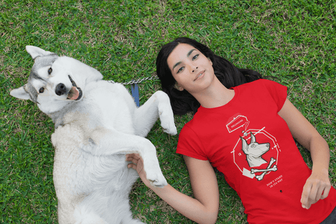 Rescue City: Hellhound - Ladies' Preshrunk Cotton T-Shirt