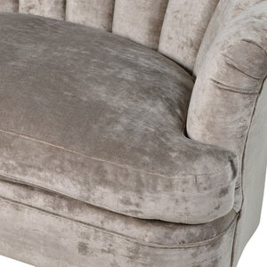 Farli Ribbed Love Seat Sofa