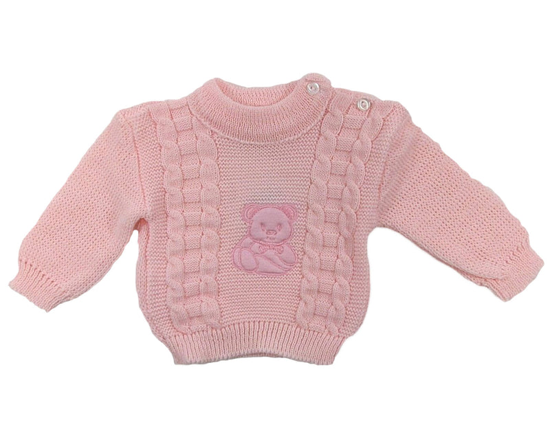 Baby Girls' Knitted Jumper