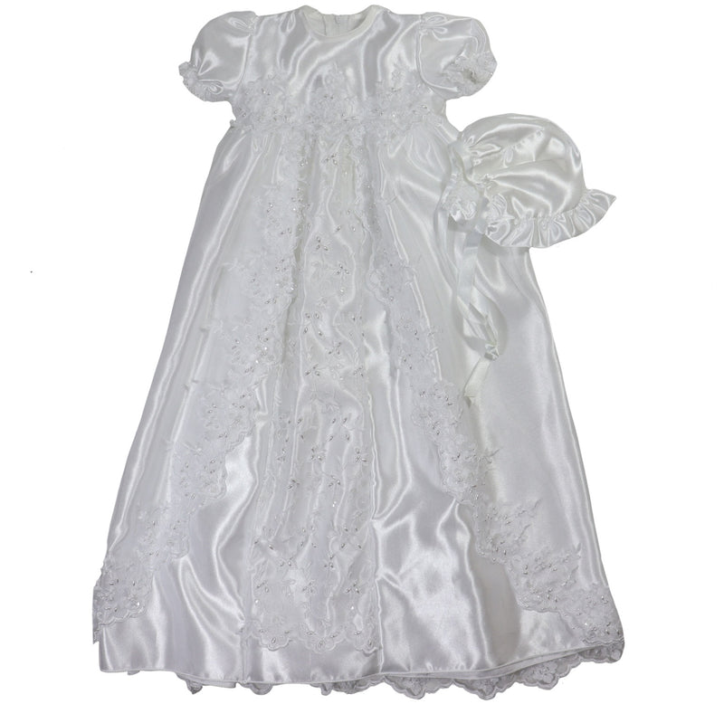 Baby Girls' Long Christening Dress