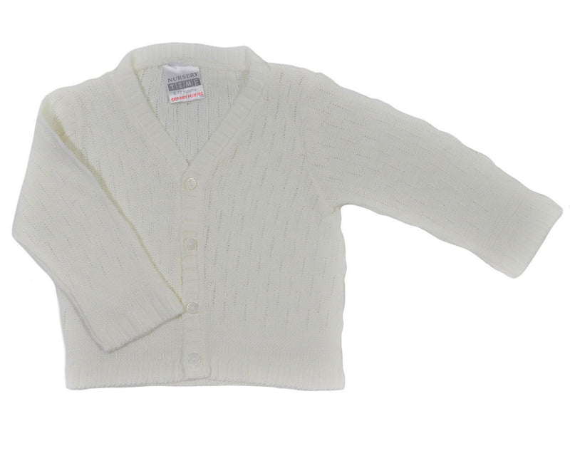 Nursery Time Boys' Knitted Cardigan