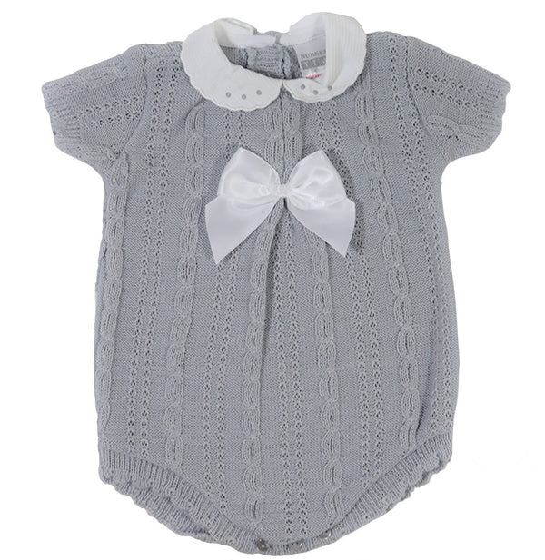 Spanish Knitted Baby Romper