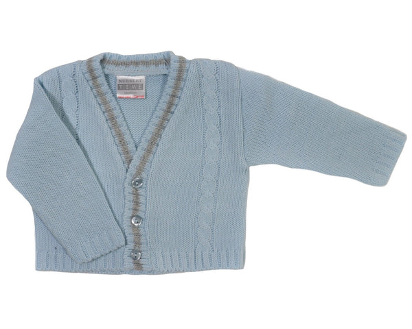 Striped Cable Baby Boys' Cardigan