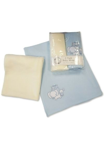Baby Elephant Wrap Twin Pack