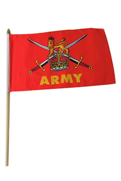British Army Large Hand Flag