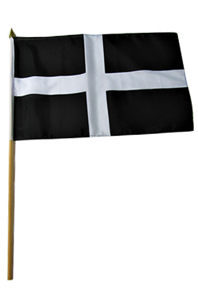 Cornwall Large Hand Flag