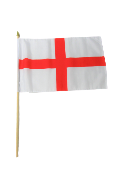 England St George Large Hand Flag