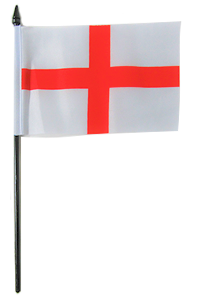 England St George Small Table Flag