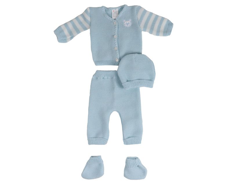 Baby Bear Outfit with Hat