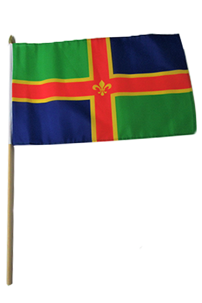 Lincolnshire Large Hand Flag