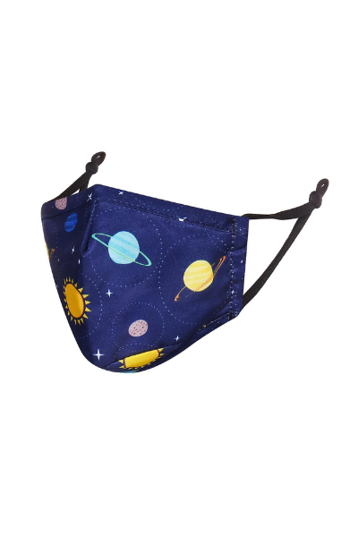 Space Design Children's Breathable Face Mask